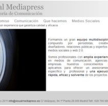 Visualmediapress. A Advertising project by Miguel  Guillen Papaseit - 13-12-2011