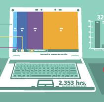 Infografía: Mi Pc. Um projeto de  de Ilusma Diseño         - 13.12.2011