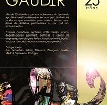 Campaña Gaudir. Um projeto de Publicidade de Luiza Apoenna Araujo Ximenes         - 04.01.2012