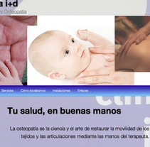 website para clinica i+d. A Software Development&IT project by David Martínez Sanz         - 07.01.2012