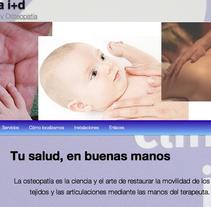website para clinica i+d. Um projeto de Desenvolvimento de software e Informática de David Martínez Sanz         - 07.01.2012