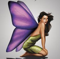 Hada. A Design&Illustration project by Carlos Venegas Parra         - 10.01.2012