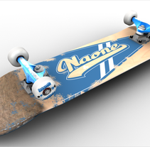 3D Skateboard. A 3D project by Naone  - Jan 11 2012 06:06 PM