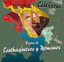 Romanos vs Cartagineses. Un proyecto de Ilustración de Jesús Valle Aguarod         - 24.01.2012