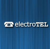 ElectroTel. A Design, Software Development, UI / UX, Br, ing, Identit, and Web Design project by Artur Mirabet         - 08.02.2012