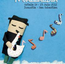 Jazzaldia. Un proyecto de Ilustración y Publicidad de el hombre sapo - 14-03-2012