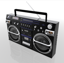 BoomBox Naone Blaster TRC 931. A Design, and 3D project by Naone  - Mar 18 2012 01:45 PM