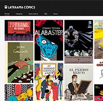 Latraama Cómics .com. Un proyecto de Diseño, Desarrollo de software y UI / UX de Álex Martínez Ruano         - 22.03.2012