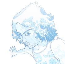Wavey Times. Un proyecto de Ilustración de Julio Michelon         - 06.04.2012