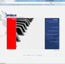 Web Periplos.es. A  project by Alvaro Portela Martínez - Apr 12 2012 10:44 AM