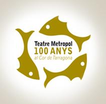 Teatre Metropol//gráfica. Un proyecto de Publicidad y Diseño gráfico de Sofia Espejo - 22-10-2013