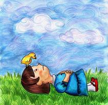 Ilustración infantil. Um projeto de Ilustração de Bren Sue         - 22.04.2012