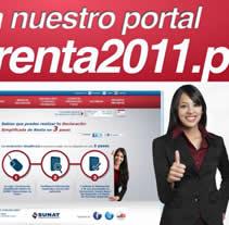 Renta 2011. Un proyecto de Publicidad y Motion Graphics de Jose Antonio Rios         - 23.04.2012