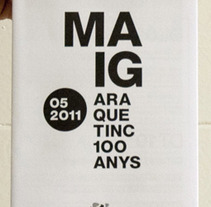 Events Leaflet Casa América.. A Design project by Marina L. Rodil Garamond         - 23.04.2012