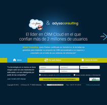 Salesforce & Adysa Consulting. A Design, Software Development, and UI / UX project by seven  - Apr 23 2012 12:15 PM