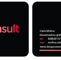 Durga Consult imatge. A Design, and Advertising project by Carla Molina         - 28.04.2012