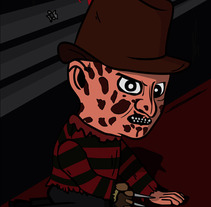 Freddy Krueger. A Illustration project by Jpdesign OK         - 29.04.2012
