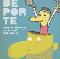 HAZ DEPORTE. A Design&Illustration project by Martín Brotons Botella - 06-05-2012