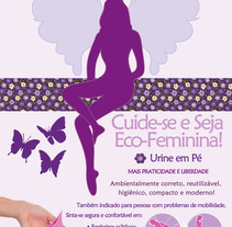Ecofeminina. A Illustration, and Advertising project by Carolinne Assis         - 09.05.2012