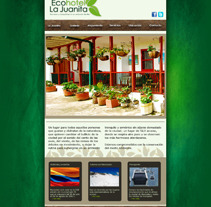 Web Ecohotel La Juanita. A Design, Installations, and Software Development project by Laura  Soto Ortiz - 13-05-2012