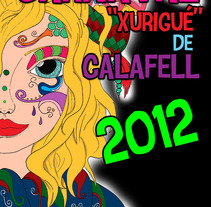 Cartel Carnaval 2012 Calafell. A Design&Illustration project by Anna Mateu         - 14.05.2012