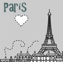 Posters de París. A Design, Illustration, Advertising, and Photograph project by Marvin  - 26-05-2012