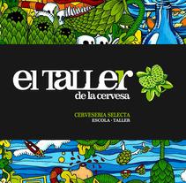 El Taller de la cervesa. A Design project by Maria Oliva         - 17.05.2012