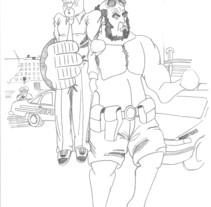Cómic (lápices). A Illustration project by EoStudi         - 17.05.2012