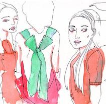 Ilustraciones libres. Um projeto de Ilustração de zulema galeano         - 17.05.2012