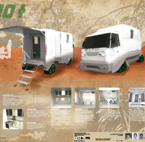 Vehiculo . A Design, Illustration, UI / UX, and 3D project by Florencia Rubiano         - 17.05.2012