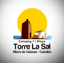 Reestyling Logotipo Camping Torre la Sal. Un proyecto de Diseño de Óscar Capdevila Larrarte - 24-05-2012