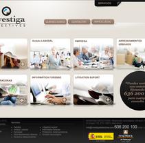 Desarrollo web para agencia de detectives.. A Design, Software Development, and UI / UX project by Bloom Estudio         - 04.06.2012