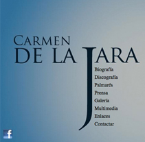 Web Carmen de la Jara. A Design project by Paco Mármol - 05-06-2012