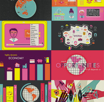The OERs - Open Educational Resources. A Design, Illustration, and Motion Graphics project by Victoria Fernandez - 02-07-2012