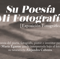 Su Poesia, MI Fotografia. A Design, and Advertising project by Hermes Sing         - 09.06.2012