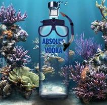 Absolut Vodka. Um projeto de Design e Publicidade de Carmen Fernández  - 10-06-2012