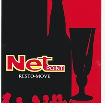 "Resto_Bar ""Net PoinT"" Mar del plata- Argentina (FreeLance). A Design project by athelaya         - 14.06.2012"