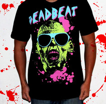 Dead Beat Clothing. A Design, Illustration, Fashion, and Graphic Design project by Pedro Molina         - 13.06.2012
