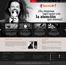 Web Corporativa Tecnoart. Um projeto de Design de María González         - 25.06.2012
