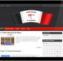 Club Patinaje. Un proyecto de Diseño, Desarrollo de software e Informática de Jesús Valle Aguarod         - 28.06.2012