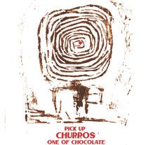 Cartel promocional tipografiaCHURROS PORRAS(xilografía). Um projeto de Design, Artes plásticas, Design gráfico e Tipografia de raquel arriola caamaño         - 01.07.2012