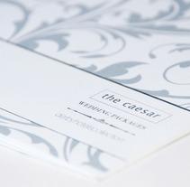 Wedding Packages. Un proyecto de Diseño y Publicidad de Lopa Gráfico         - 03.07.2012