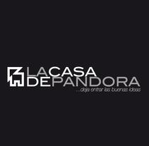 Identidad Corporativa LaCasaDePandora. Un proyecto de Diseño, Publicidad y UI / UX de Diseño y Comunicación ALPUNTODESAL         - 04.07.2012