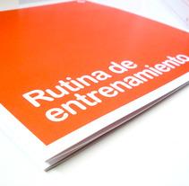 Diseño Rutinas de entrenamiento. Un proyecto de Diseño, Ilustración, Publicidad y UI / UX de Diseño y Comunicación ALPUNTODESAL         - 04.07.2012