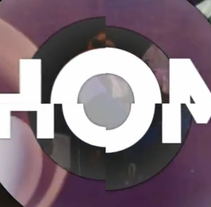 """HOM"" Canal cultural TV. A Design, Motion Graphics, Film, Video, and TV project by Miguel de Llobet         - 08.07.2012"