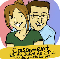 Auca Casament. A Illustration project by Dànius Dibuixant - Il·lustrador - comicaire         - 20.07.2012