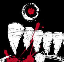 EL HAMBRE | logotipo. Un proyecto de Diseño, Ilustración y Publicidad de alejandro escrich - 29-07-2012