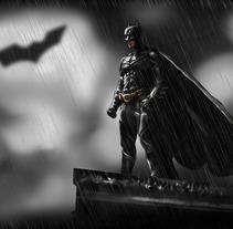 El caballero oscuro. Um projeto de Design e Ilustração de Álvaro Moldes         - 14.08.2012