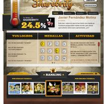 Sharebrity. Un proyecto de Desarrollo de software y Publicidad de Javier Fernández Molina - Miércoles, 26 de septiembre de 2012 16:11:50 +0200
