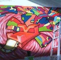 quetzalcotl mural. Um projeto de Ilustração de Ana Torres Limon - 27-08-2012
